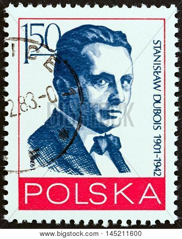POLAND - CIRCA 1978: A stamp printed in Poland from the