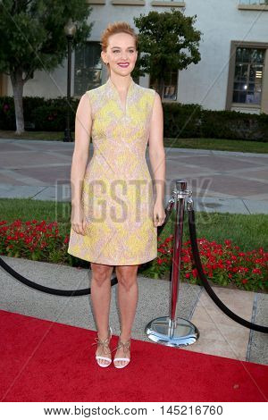 LOS ANGELES - AUG 31:  Jess Weixler at the