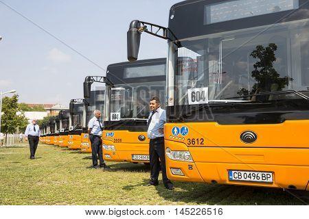 Public Transportation New Busses Drivers