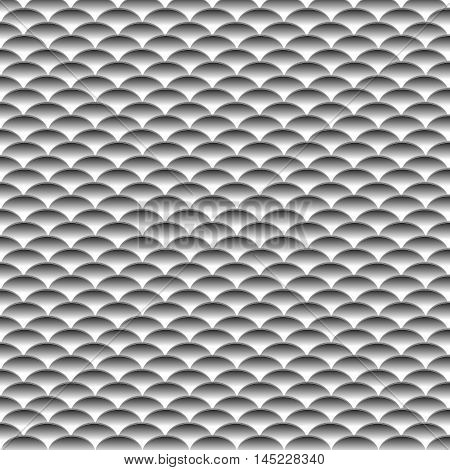 Pattern of tiles on the roof . vector illustration