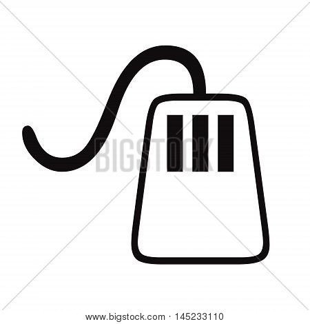 Computer mouse on white background , Computer mouse on white background