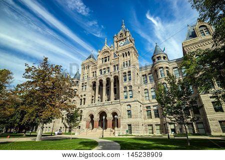 City Hall Of Salt Lake City