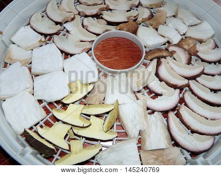 sliced mushrooms , dried mushrooms , mushrooms , ooms