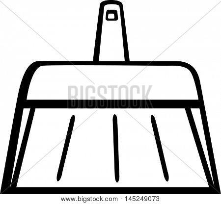 dustpan with short handle
