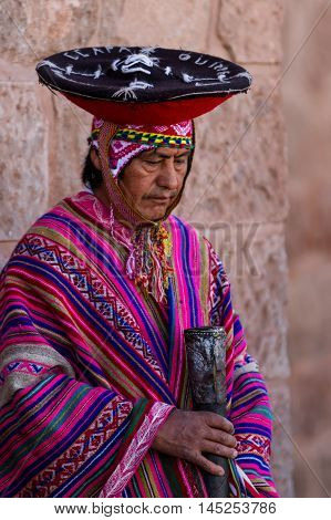 Quechua Elders In The Sacred Valley