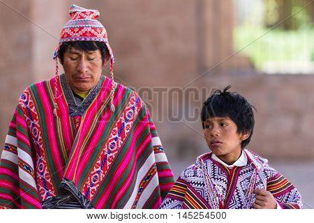 Native Quechua Man