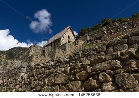 Guard Shack In Machu Pichu