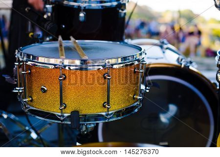 The Drum On The Stage.