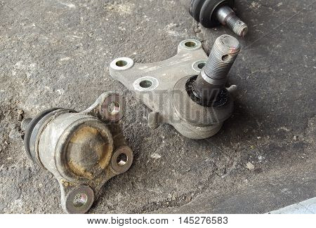 Ball joint of the vehicle repair part