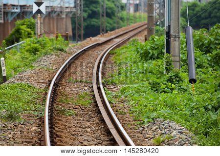 Railroad scenery