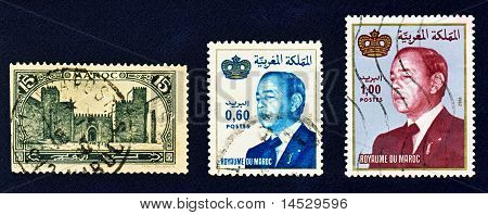 Moroccan postage stamps