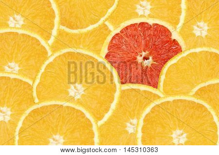 yellow and red oranges background