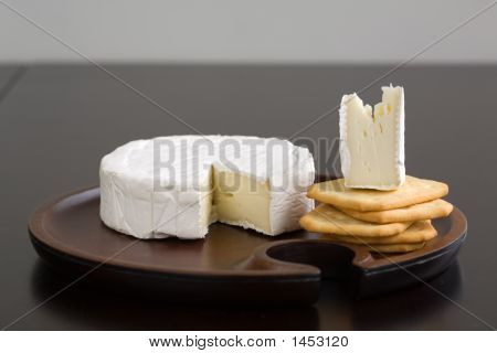 Brie And Crackers
