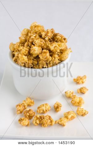 Carmel de palomitas de maíz