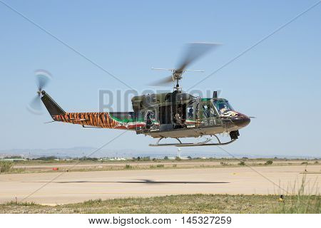 Italian Ab212 Helicopter