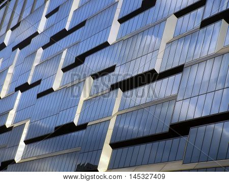 fragment design of modern high rise office building