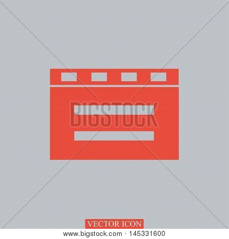 Cinema Clapper Icon