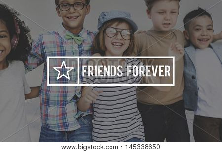 Friends Friendship Togetherness Partnership Buddy Concept
