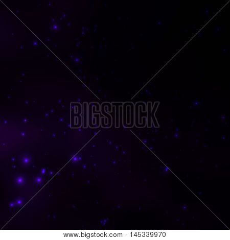 Starry sky at night. Cosmic background. Shinning