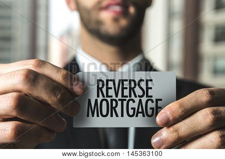 Reverse Mortgage text