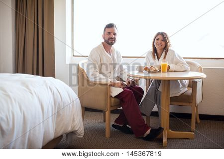 Breakfast On Their Honeymoon