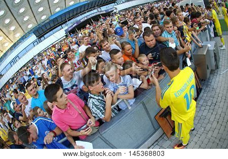 Open Training Session Of Ukraine National Football Team