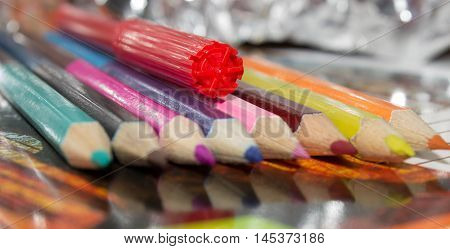 writing material used for writing drawing sketching