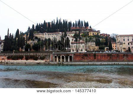 Roman Theatre In Verona, Italy