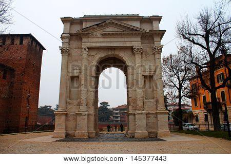 Gavi Arch In Verona, Italy