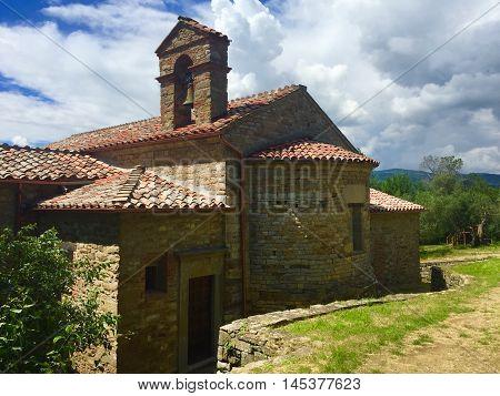 Isola Maggiore, chapel, Umbria, central Italy, Island in Lake Trasimeno