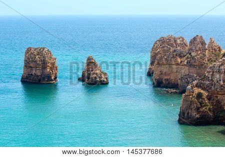 Atlantic Rocky Coast (algarve, Portugal).