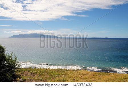 Island Of Brava As Seen From The High Cliffs
