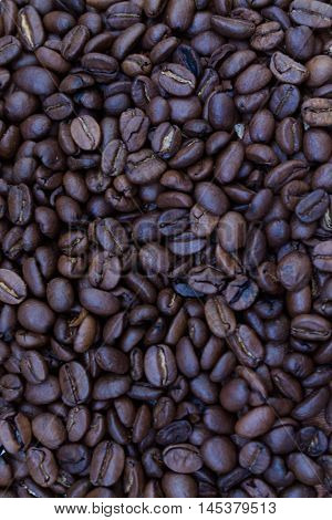 background of coffee beans caffeine, aroma, mocha,