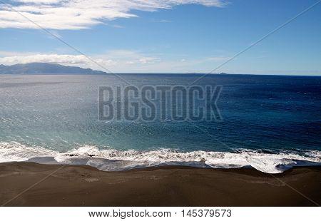 Black Sand Beach Beauty