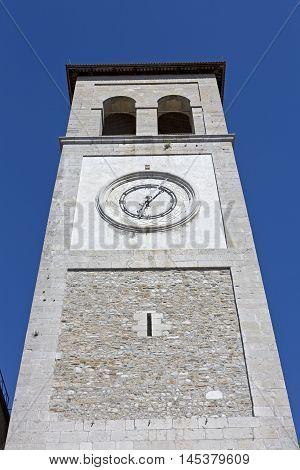 Steeple of the cathedral Santa Maria Assunta in Cividale