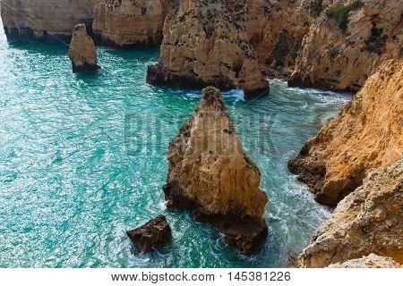 Ponta Da Piedade (lagos, Algarve, Portugal).