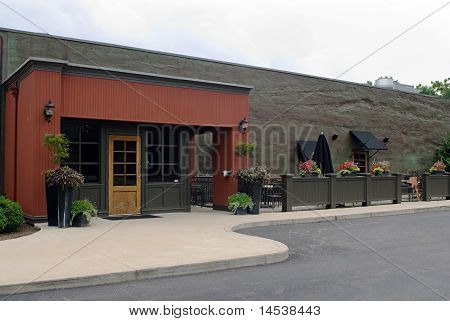 Restaurant with Outdoor Cafe