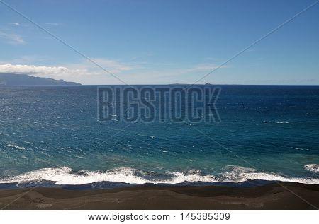Beach, Brava And Horizon