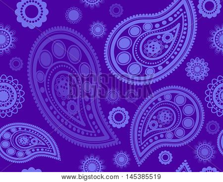 Seamless pattern with turtles in indigenous style Vector