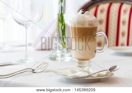 Fresh Cup of Coffee Breakfast Setout Restaurant