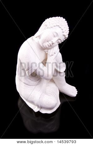 Buddha in mystic sleep