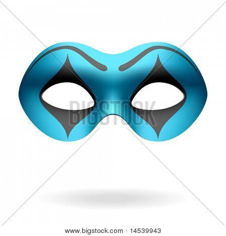 Masquerade mask. Vector.