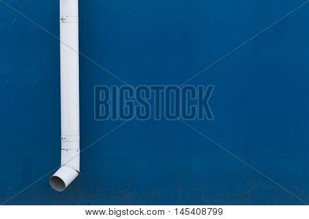 White Drainpipe