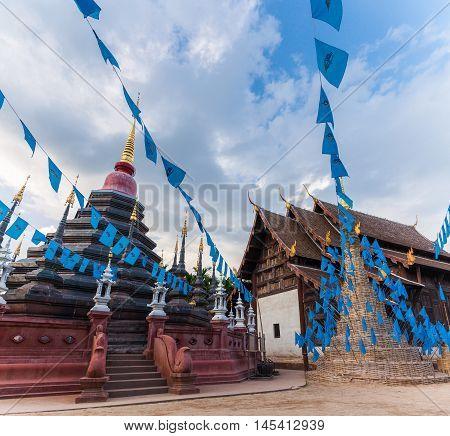 Wat Phan Tao, Chiang Mai, Thailand