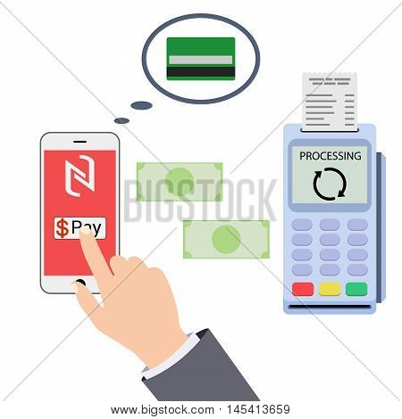 Mobile payments and near field communication Transaction paypass NFC