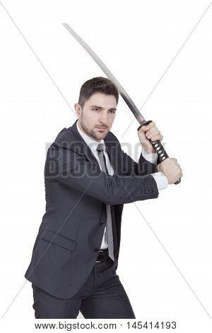 Warrior Businessman