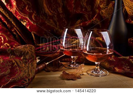 Two Glasses Of Brandy