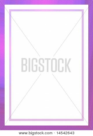 Pink Border Stationary