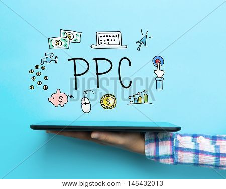 Ppc Concept With A Tablet