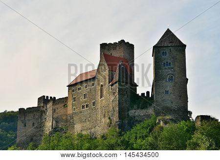 Hardegg Castle National Park Thaya Valley Lower Austria.